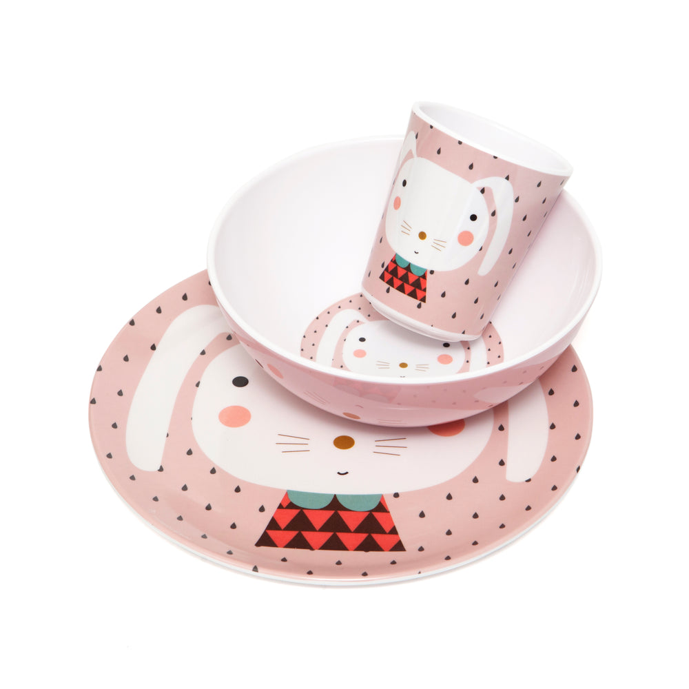 MELAMINE CUP - RABBIT DROPS 180ml-Tableware-Babyllama store