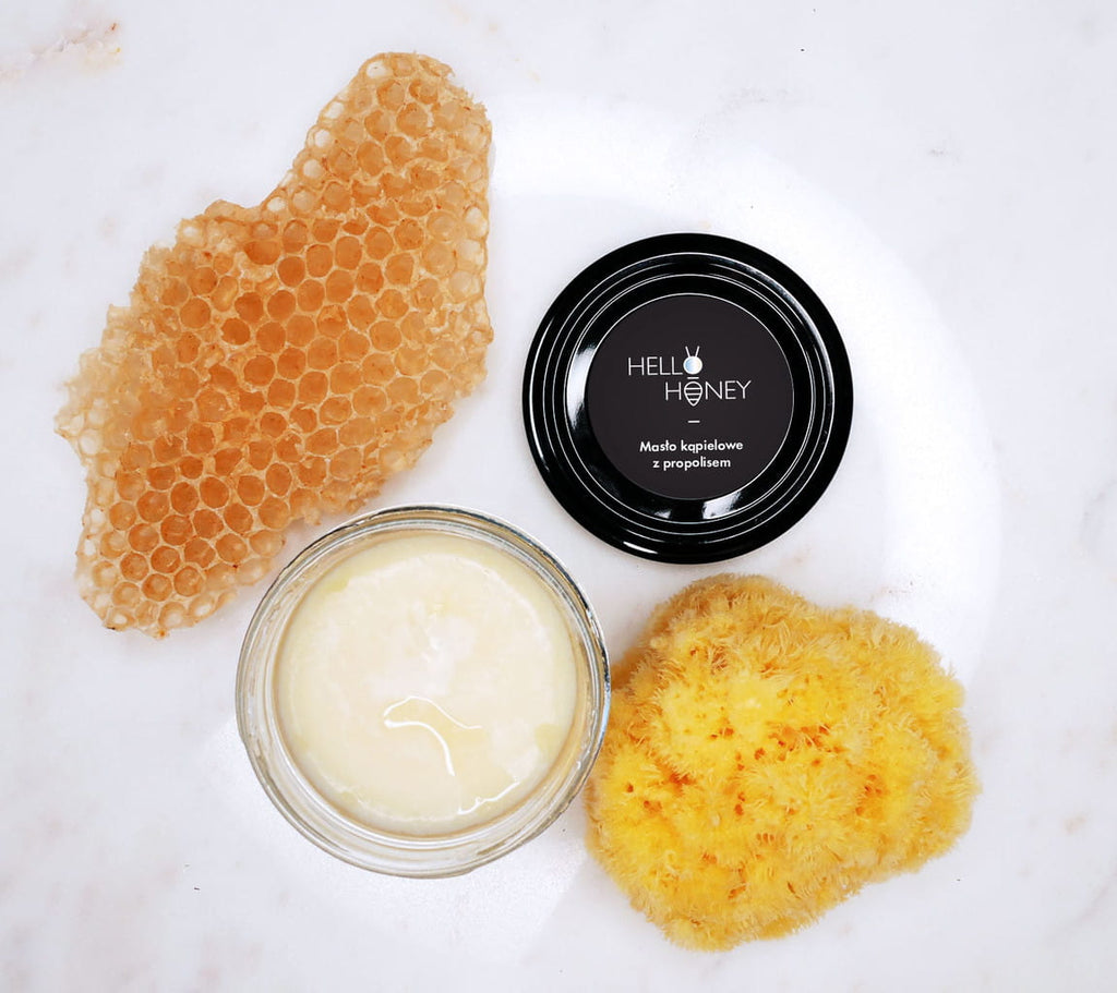 Bath Butter with Propolis - 80 g - Babyllama store