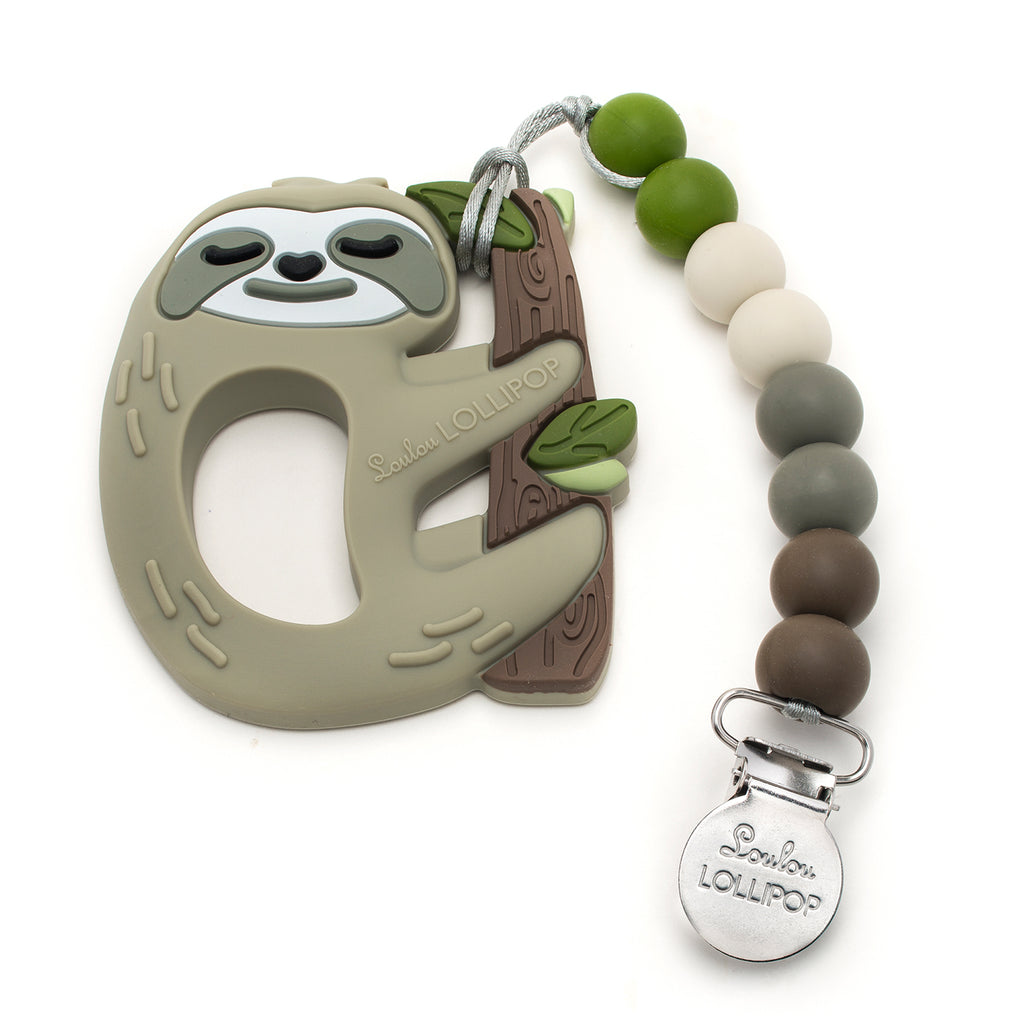 SLOTH TEETHER SET GEM-Teether-Babyllama store