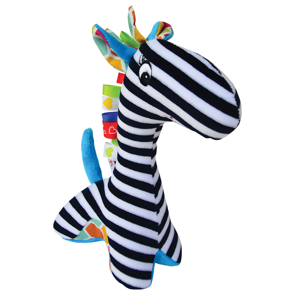 TIMMY THE GIRAFFE CONTRAST RATTLE-Babyllama store