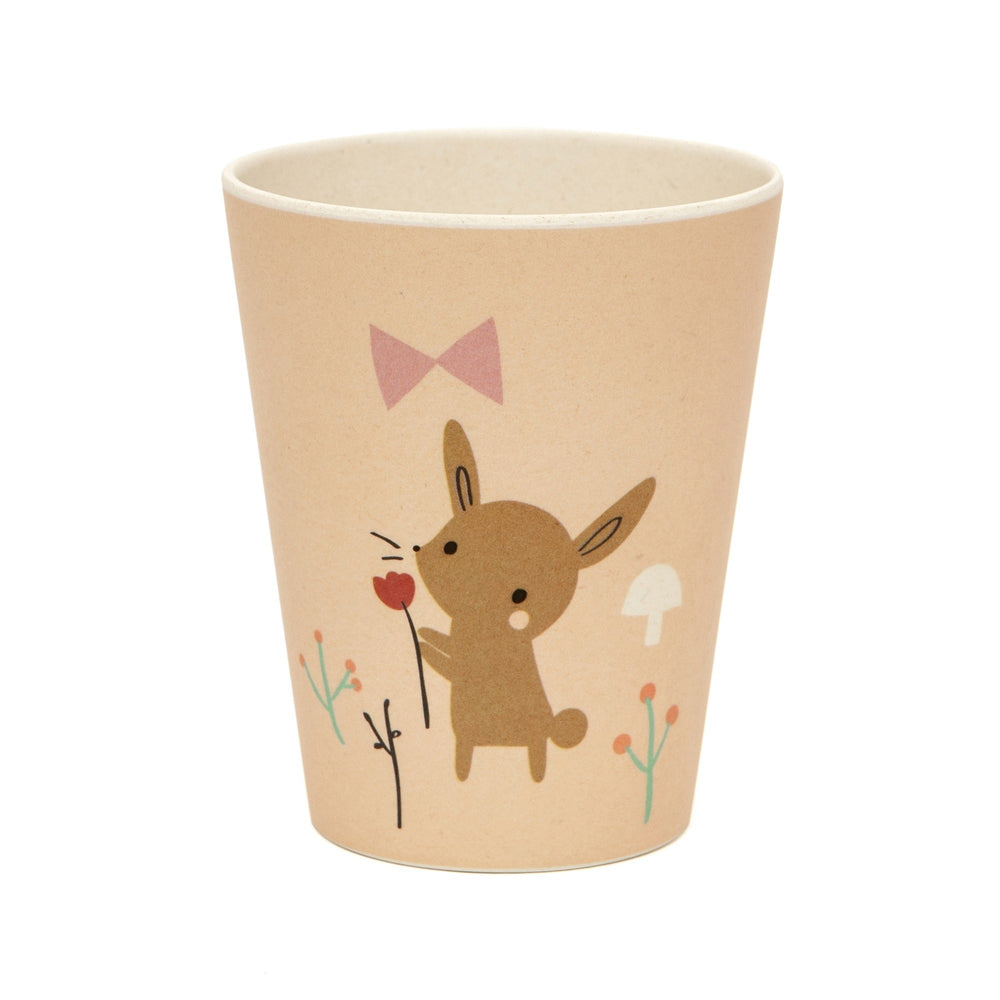 BAMBOO CUP - BUNNY-Tableware-Babyllama store