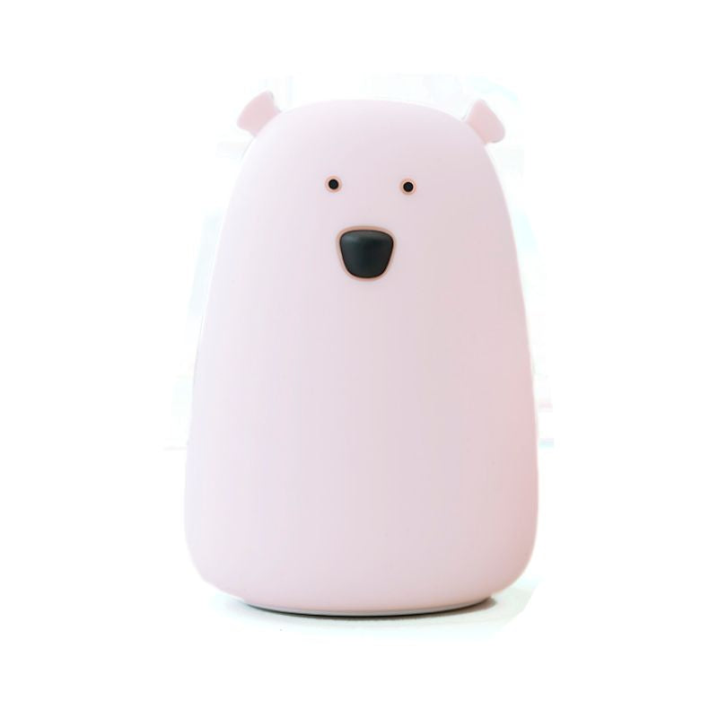 BEAR NIGHTLIGHT - PINK-Nightlight-Babyllama store