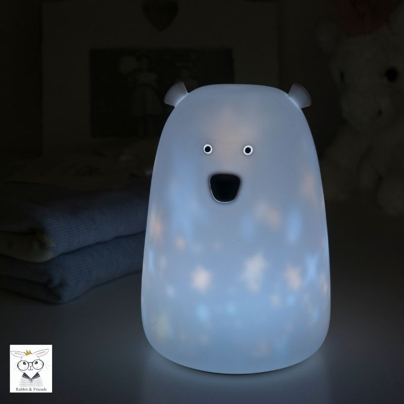 BEAR NIGHTLIGHT - TWINKLE STAR-Nightlight-Babyllama store