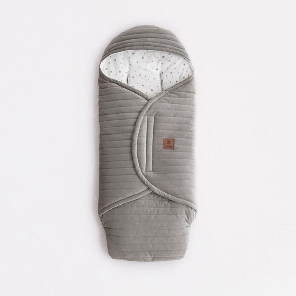 Car Seat Blanket/Swaddle - Grey