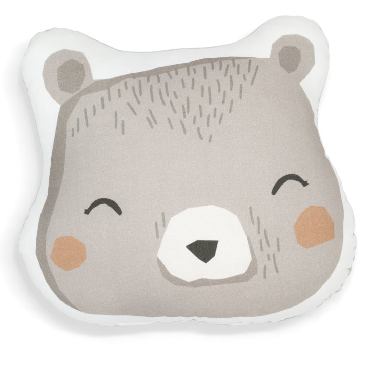 ANIMAL PRINT CUSHION - BEAR - BABYLLAMA STORE