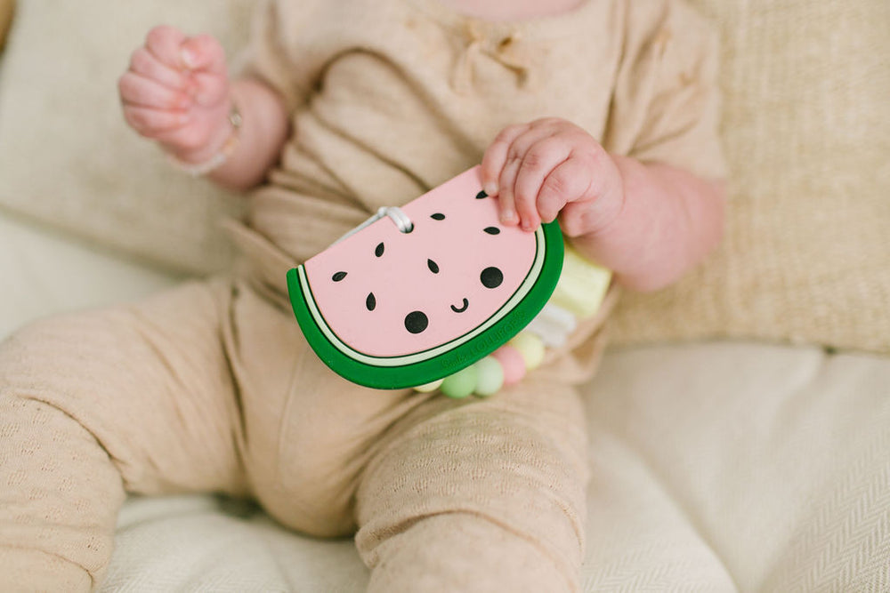 WATERMELON SILICONE TEETHER SET-Teether-Babyllama store