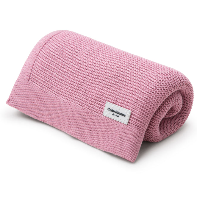 BAMBOO BLANKET - LILAC PINK-Blanket-Babyllama store