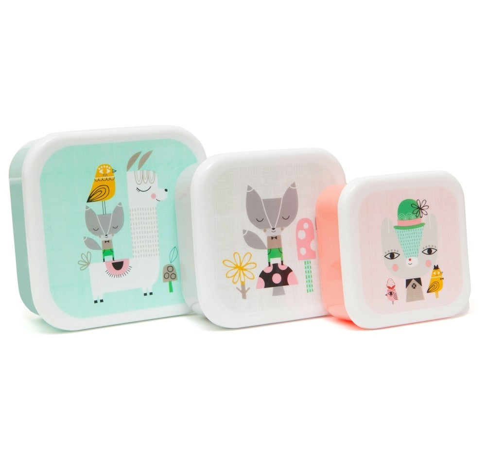 LUNCHBOXES LLAMA & FRIENDS-Lunchbox-Babyllama store