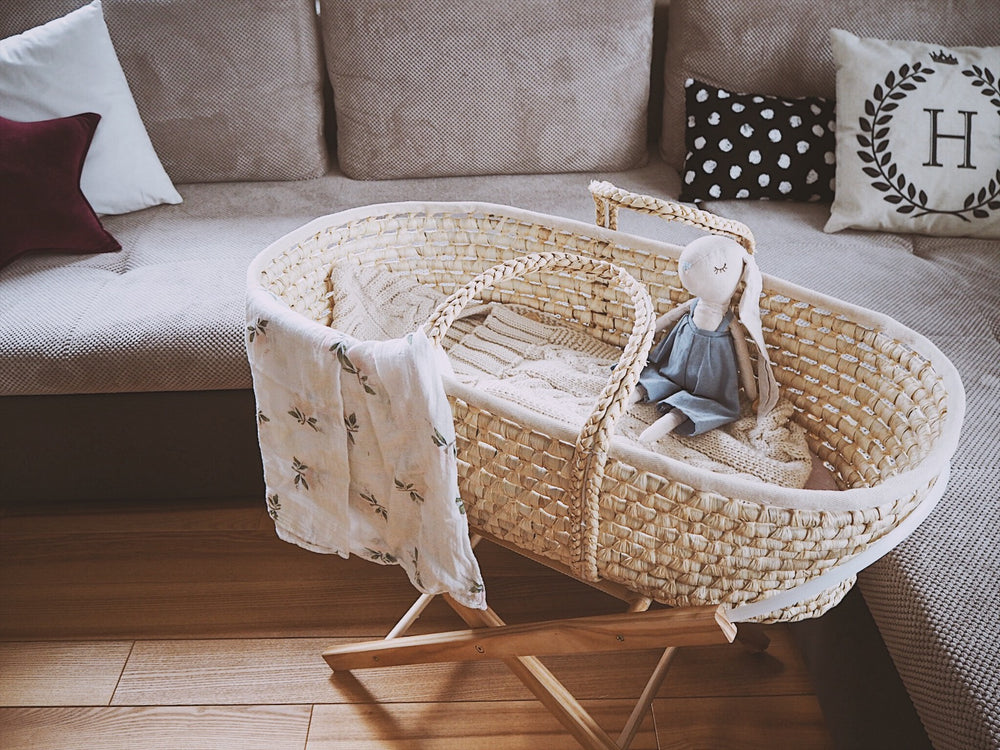 MOSES BASKET WITH MATRESS - AHOJ BABY-Moses Basket-Babyllama store