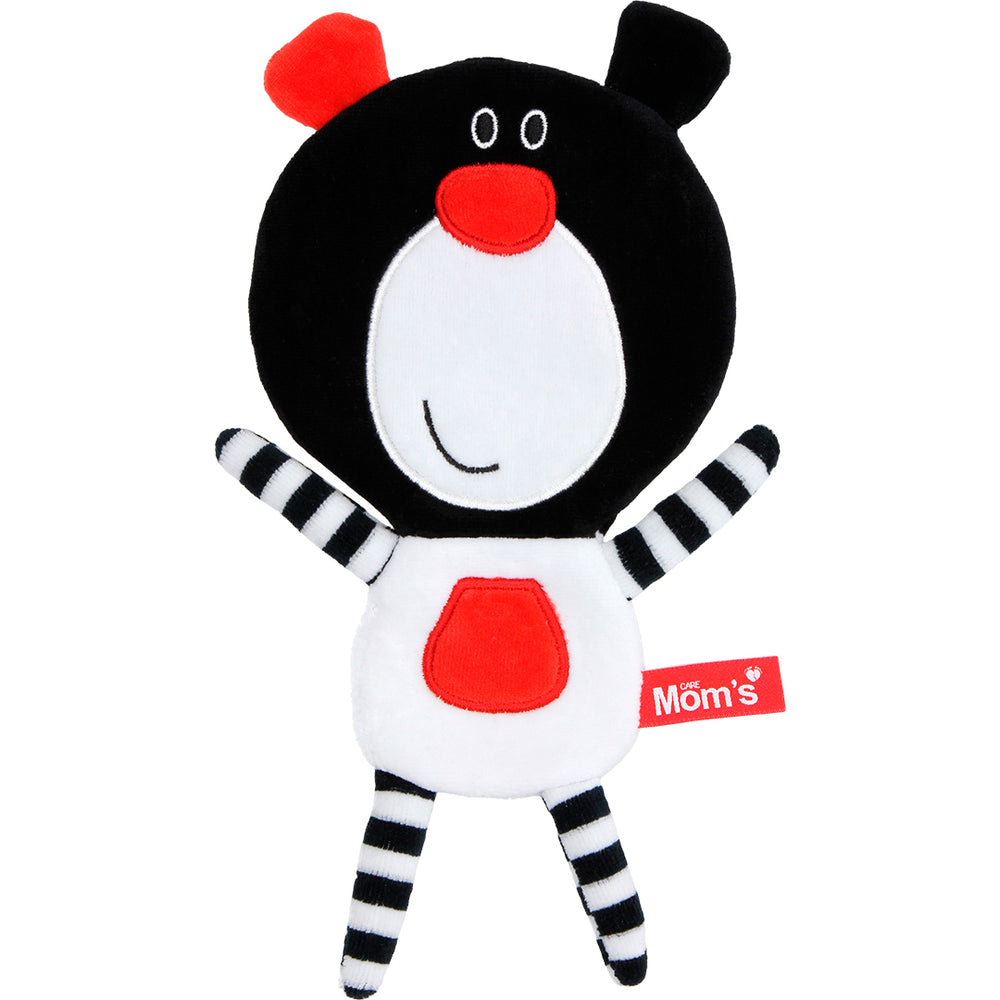MR. BUU BEAR RUSTLY SENSORY TOY - BLACK-Babyllama store
