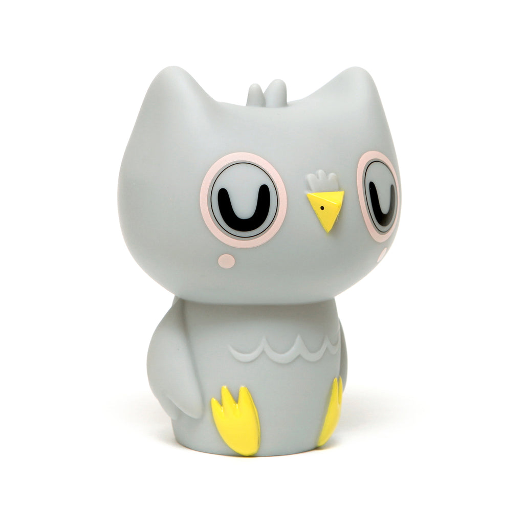 OWL NIGHTLIGHT - GREY-Nightlight-Babyllama store