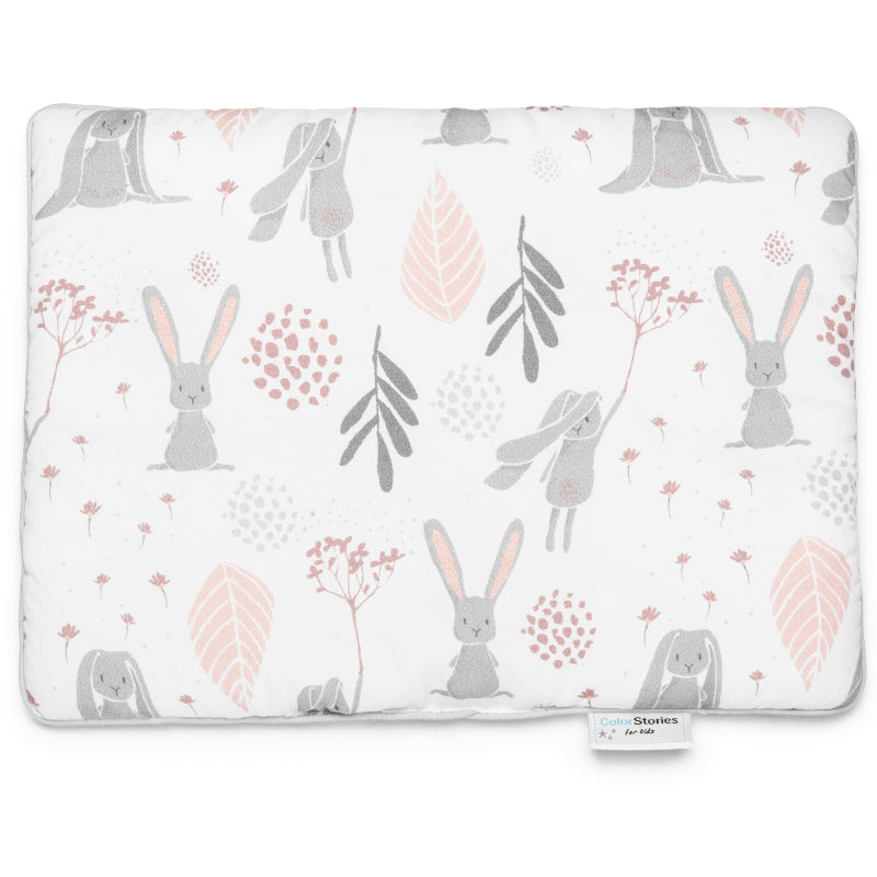 COTTON PILLOW WITH FILLING - BUNNY - Babyllama store