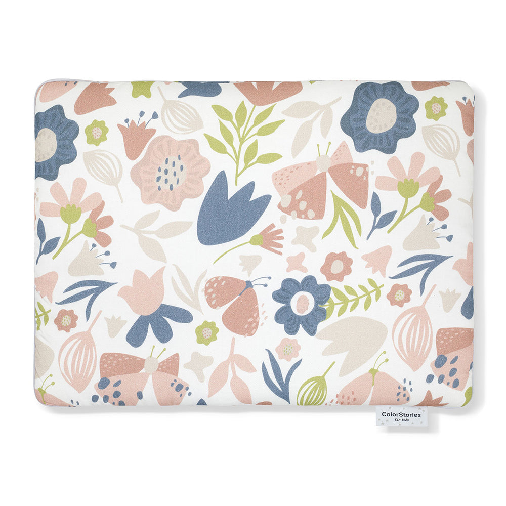 COTTON PILLOW WITH FILLING - MEADOW - Babyllama store
