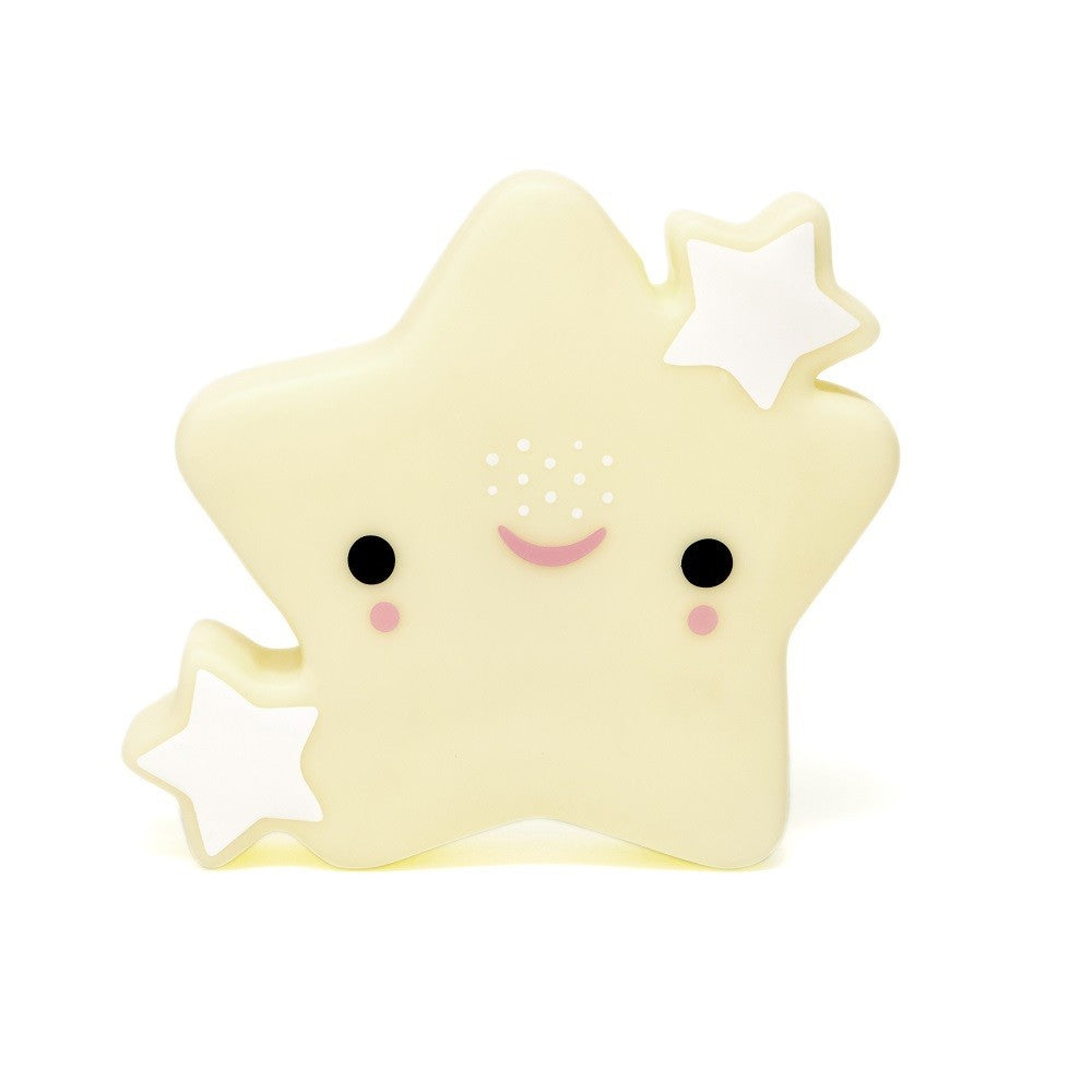 STAR NIGHTLIGHT - YELLOW-Nightlight-Babyllama store