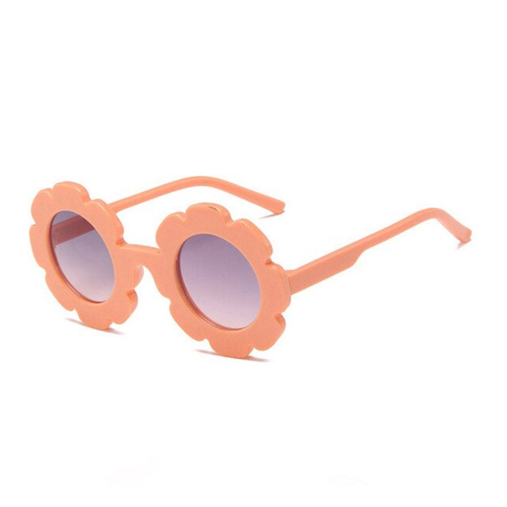 FLOWER SUNGLASSES - PEACH - Babyllama store