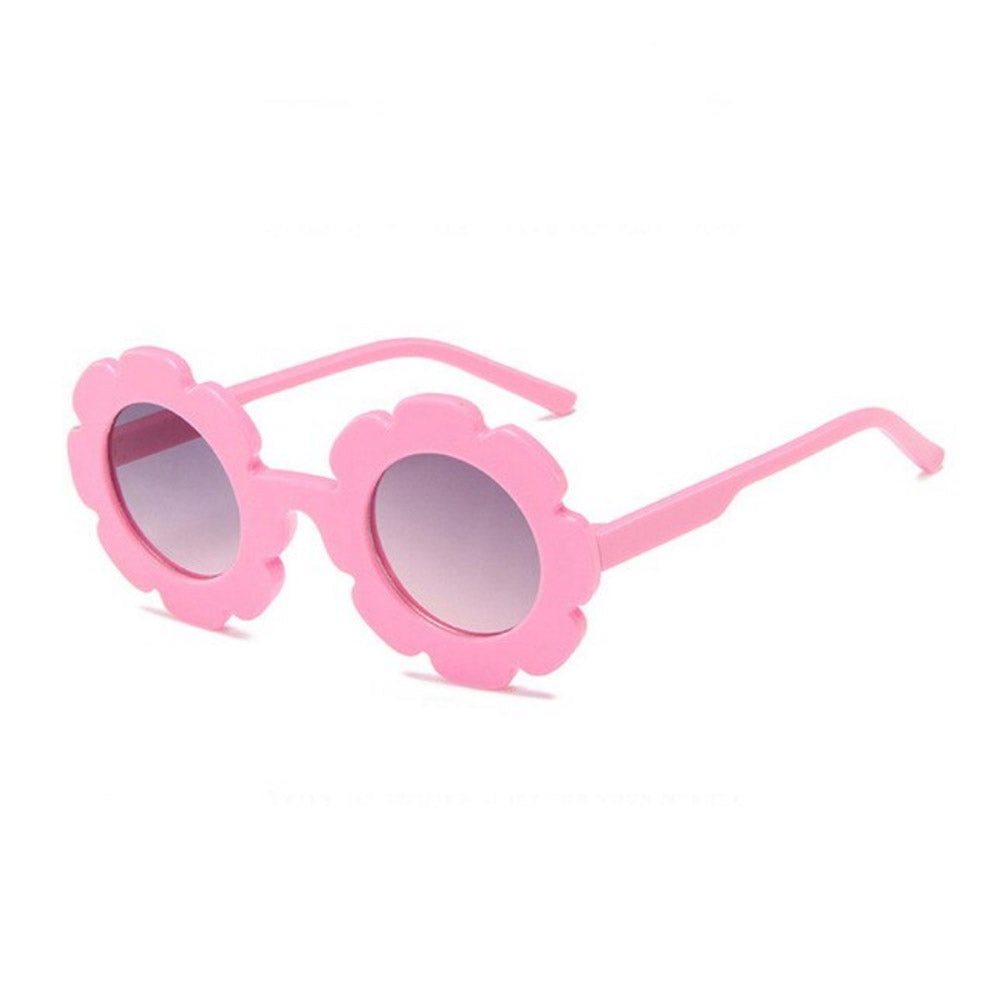 Flower Sunglasses - Pink