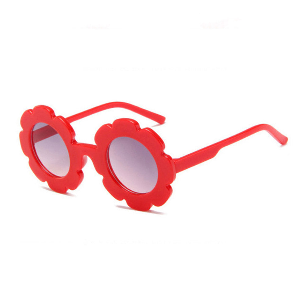 Flower Sunglasses - Red