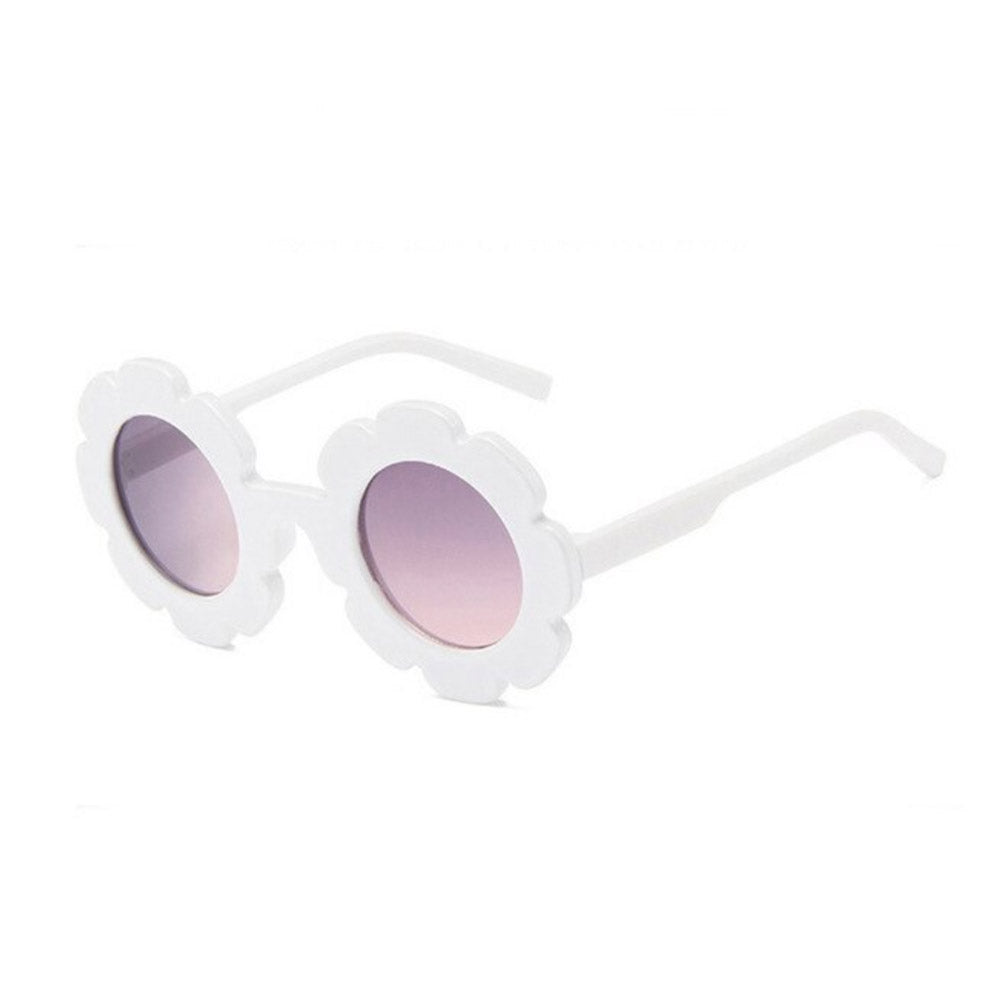FLOWER SUNGLASSES - WHITE - Babyllama store