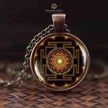 Sri Yantra necklace & pendant