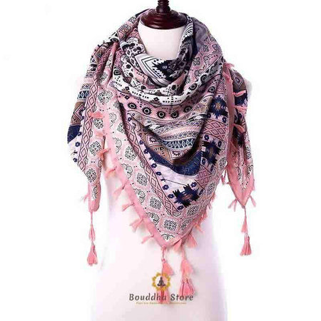 Fall-Winter Bohemian Scarf / Shawl (available in 6 colors)