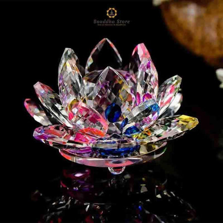 Crystal lotus in different colors