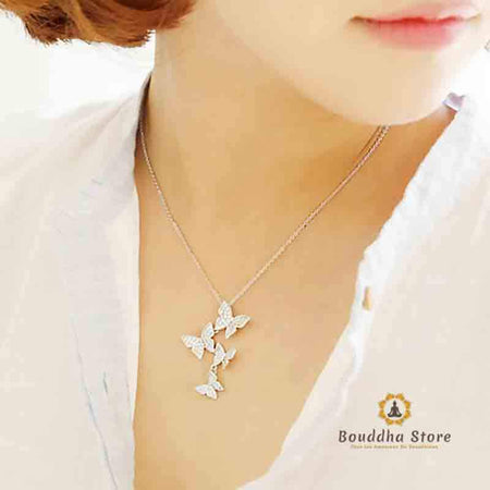 Collana a sospensione Liberty Butterfly