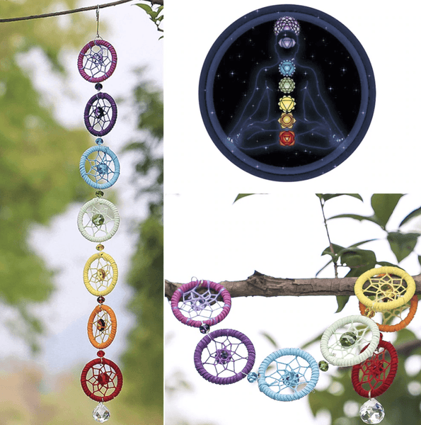 "Suspension 7 chakras ""Equilibre"""