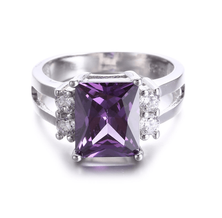 Amethyst Purity Ring