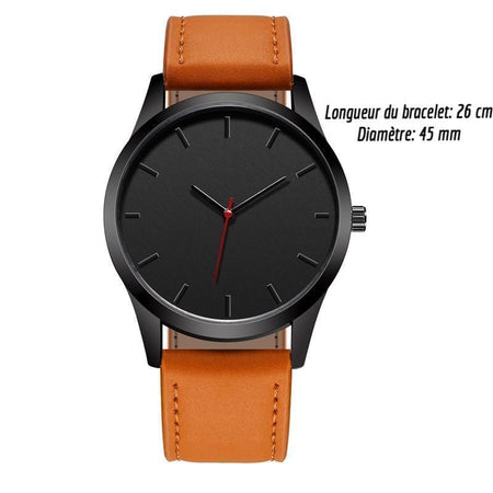 Modern men's watch
