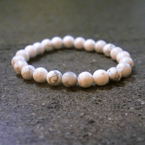 Bracelet Howlite (rétention d'eau)