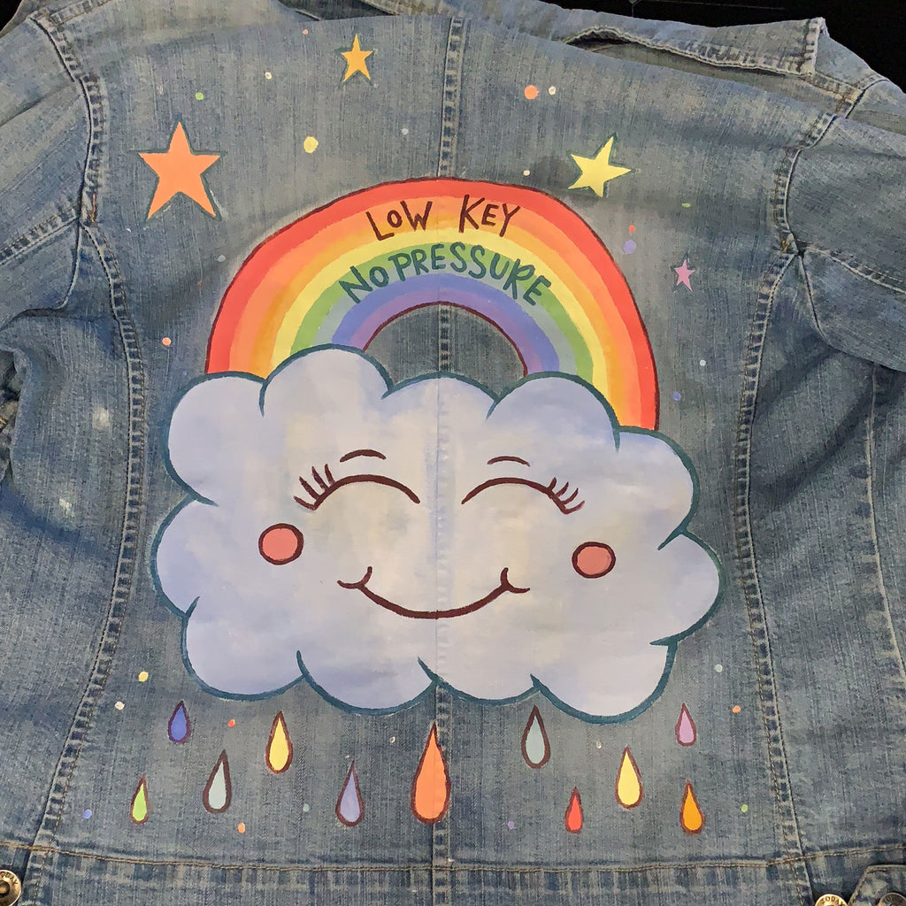 Customised Denim with Illustration