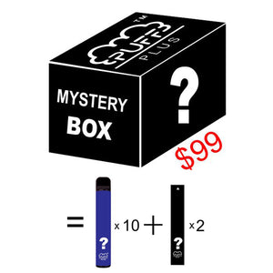 PUFF BAR PLUS MYSTERY BOX - Puff Bar Official Site