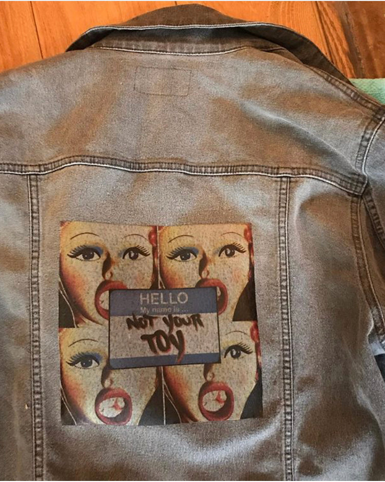 NOT YOUR TOY DENIM