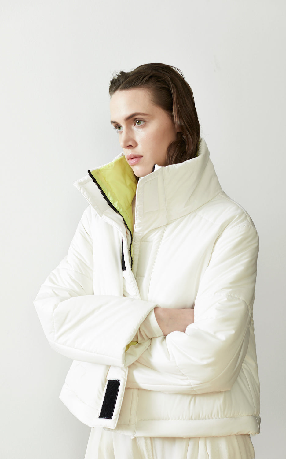 REVERSIBLE CONVERTIBLE SUSTAINABLE DOWN COAT