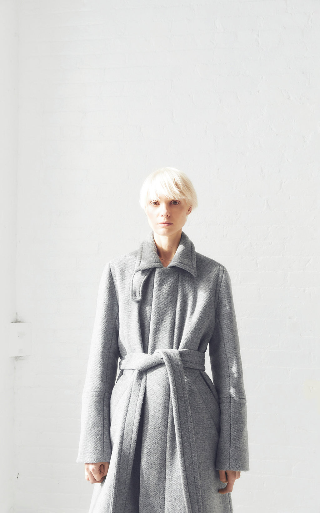 SUSTAINABLE DOWN WOOL OVER COAT