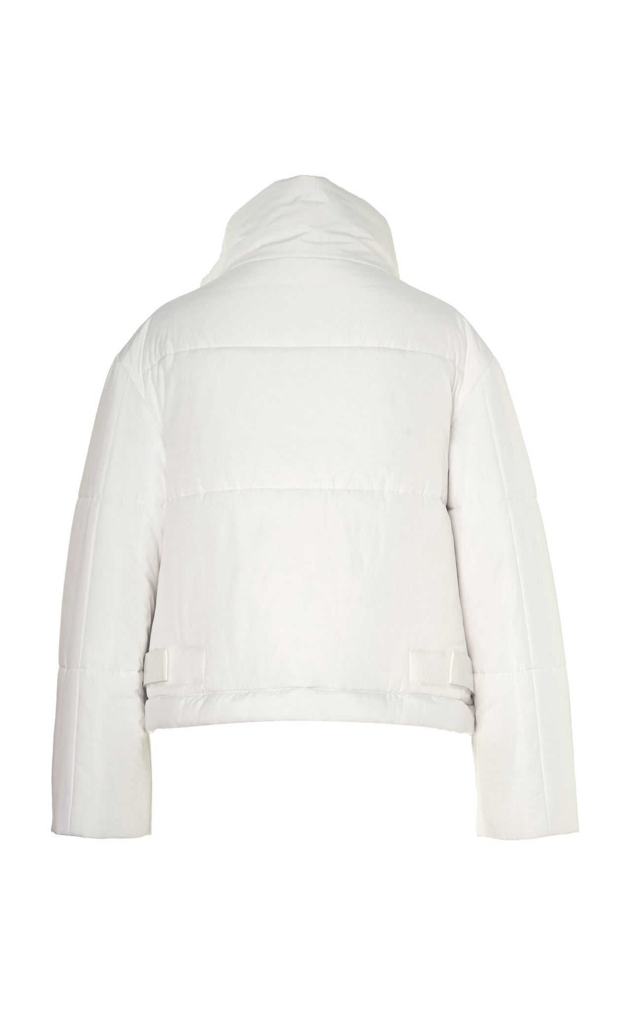 REVERSIBLE CROPPED SUSTAINABLE DOWN COAT