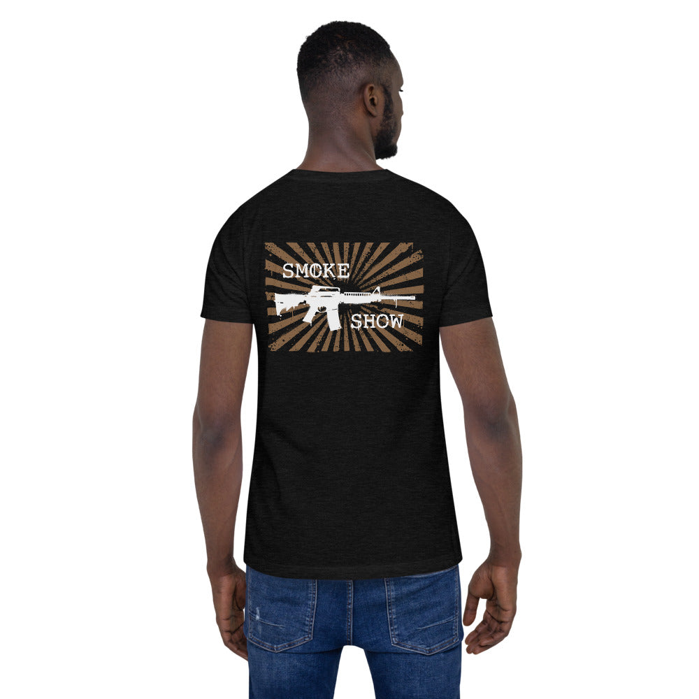 Smoke Show Short-Sleeve Unisex T-Shirt