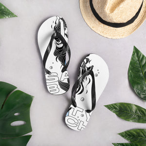 Salty Bitch Flip-Flops. Let em know what your about!