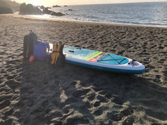 Dry Bags ready for SUP tour