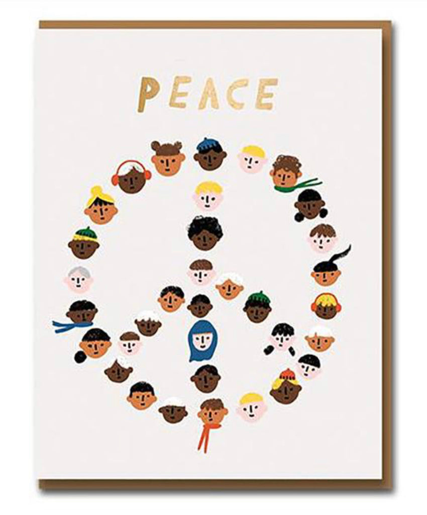 Peace Pals Greeting Card