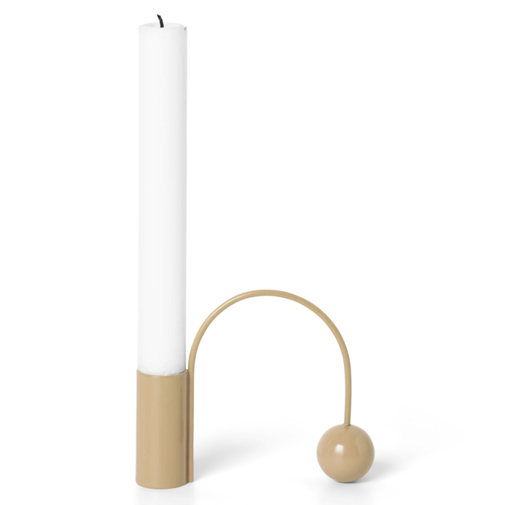 Ferm Living Balance Candle Holder Macaroon
