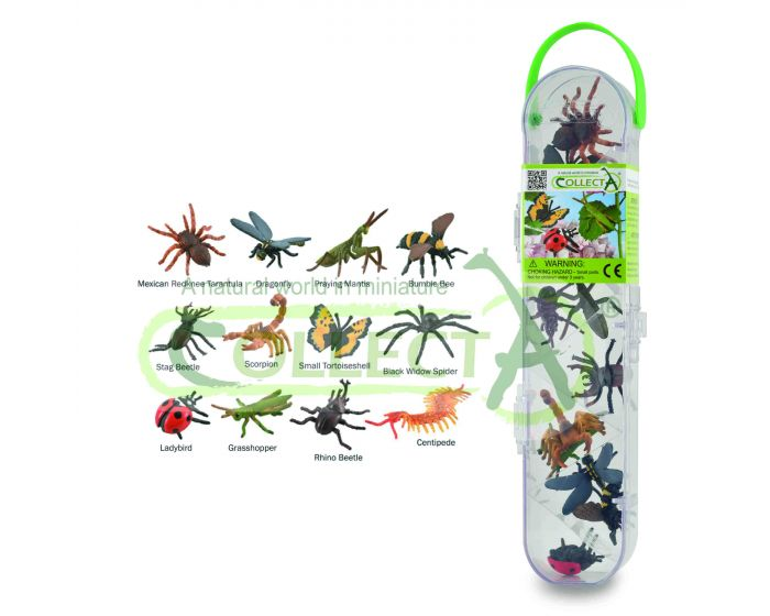 CollectA Box Of Mini Insects & Spiders