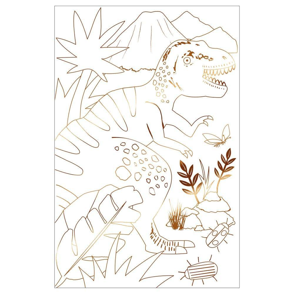 Dinosaur Kingdom Colouring Posters