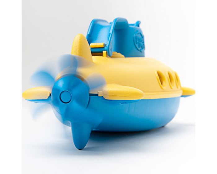 Green Toys Blue Handle Yellow Submarine