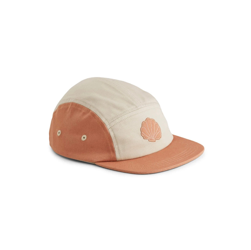 Liewood Rory Cap: Sea Shell Tuscany Rose Mix