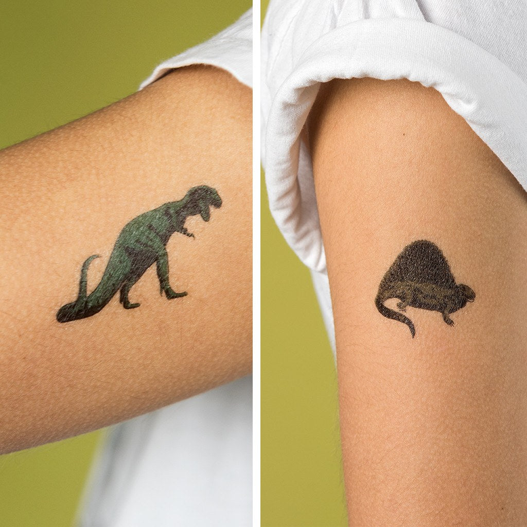 Prehistoric Land Temporary Dino Tattoos: 2 Sheets