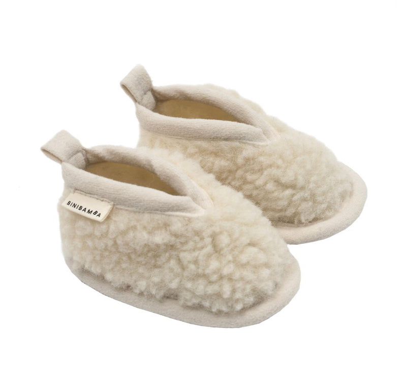 Binibamba Sheepskin Baby Booties