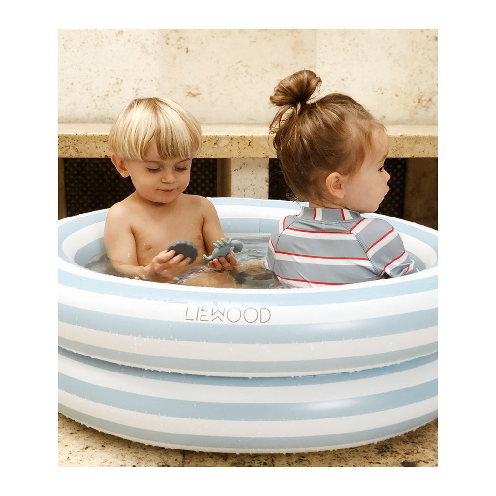 Liewood Leonore Pool: Sea Blue Stripe