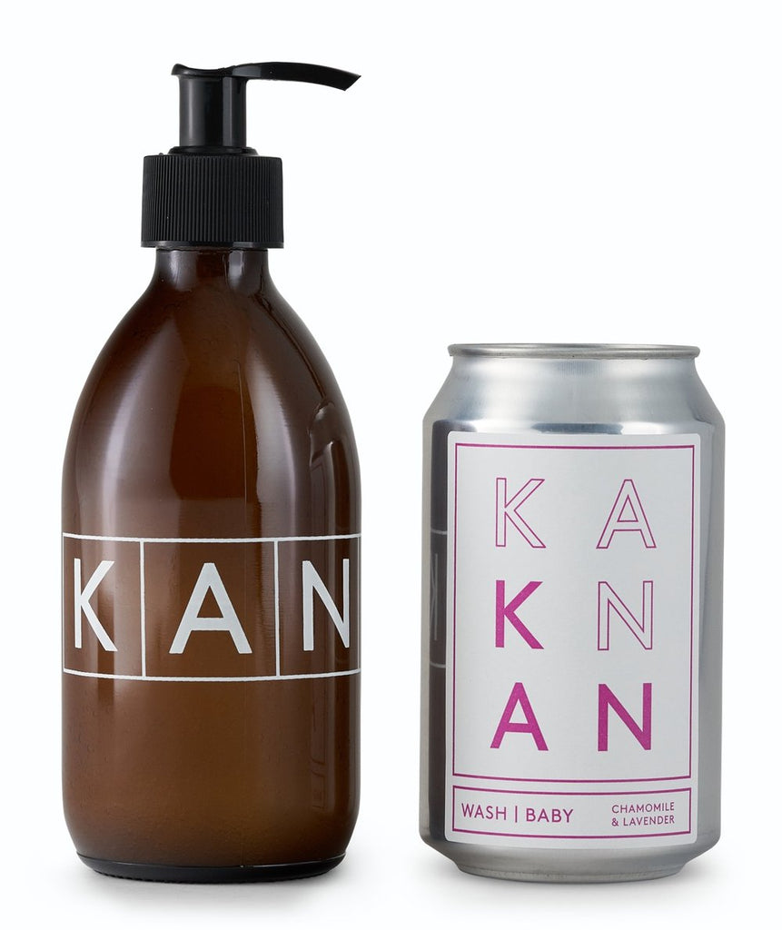 Kankan London Baby Wash Starter Set