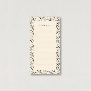 Lucy Says I do Dalmatian To Do List Jotter Desk Pad